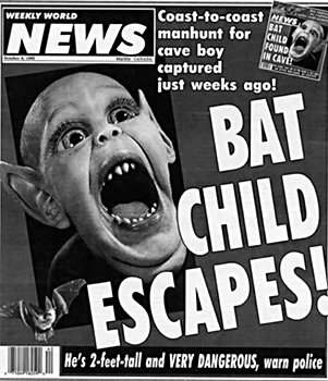 Bat Child Escapes!