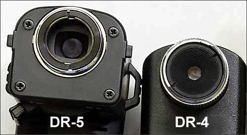 Spanner tension adjustment on the Nikon DR-4 and DR-5 right-angle viewfinders