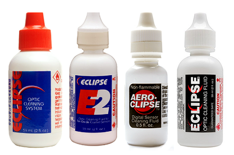 Original Eclipse fluid, E2, Aeroclipse and new Eclipse