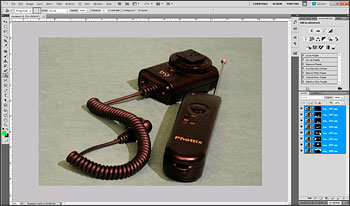 Focus stacking in Photoshop CS5