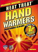 Grabber Mycoal Heat Treat chemical hand warmers