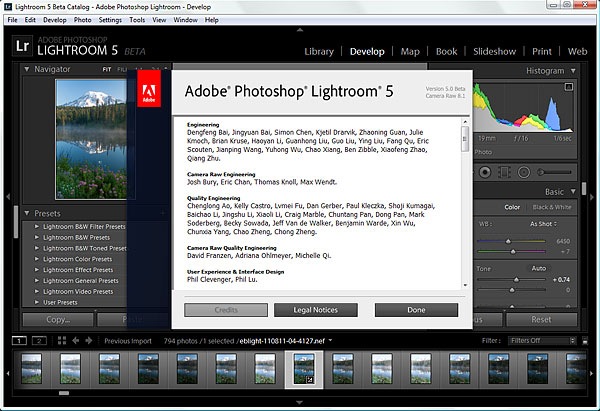 Lightroom 5 Beta