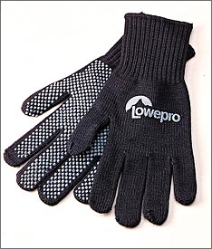 Lowepro photographers gloves - potentially worth getting, but cut the fingertips off