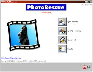 PhotoRescue version 3