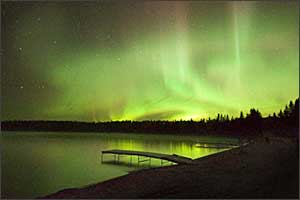 Northern Lights in Manitoba, Canada