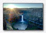 Sunrise Over Palouse Falls